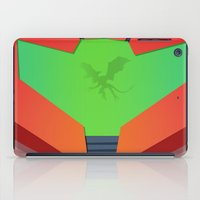 metroid iPad Cases featuring Vector Metroid by LoweakGraph