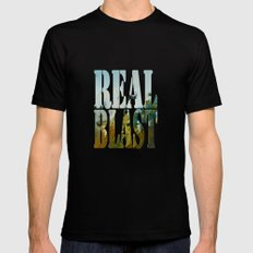 Blast MEDIUM Black Mens Fitted Tee