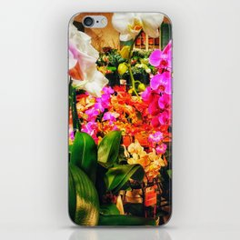 Orchids in the Market iPhone Skin