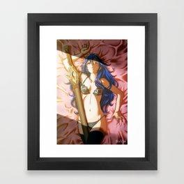 Lucina (Let's Make a Morgan) Framed Art Print