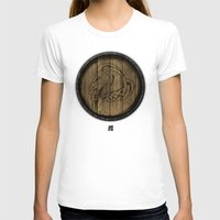 skyrim T-shirts featuring Shield's of Skyrim - Whiterun by VineDesign