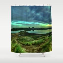 Marina (Digital Art) Shower Curtain