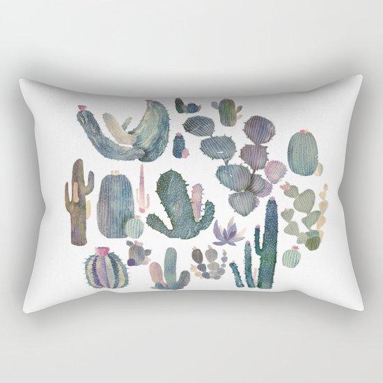 cactus fat Rectangular Pillow