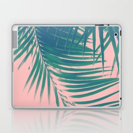 Palm Leaves Blush Summer Vibes #2 #tropical #decor #art #society6 Laptop & iPad Skin