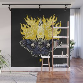 Moths to a Flame Wall Mural