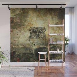 Ink Owl Wall Mural