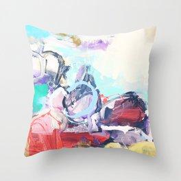 number3 Throw Pillow