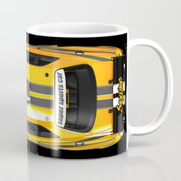 Exclusive poster with sports cars. Coffee Mug