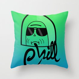 Chilled Musket Throw Pillow