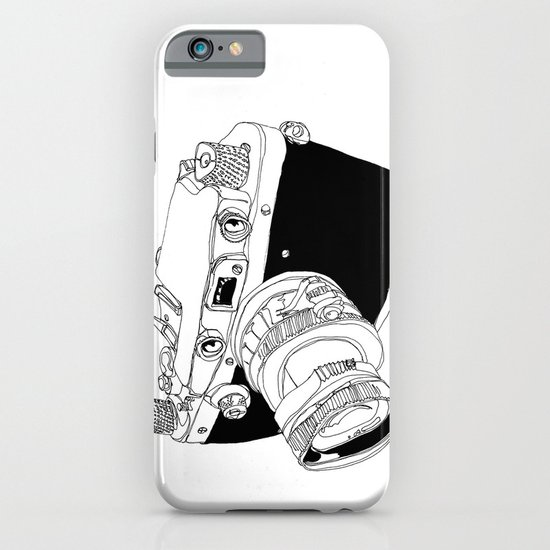 Camera Drawing iPhone & iPod Case