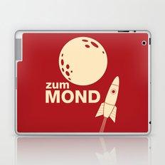 Zum Mond Laptop & iPad Skin