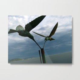 Floripa Birds Metal Print