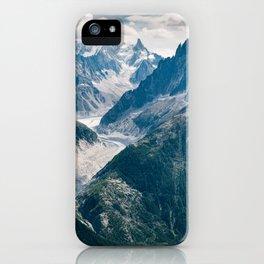 Chamonix, France #society6 #decor #buyart iPhone Case