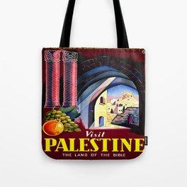 Vintage poster - Palestine Tote Bag