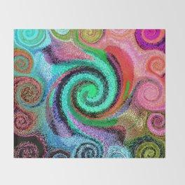 Sticky Love Mosaic Throw Blanket