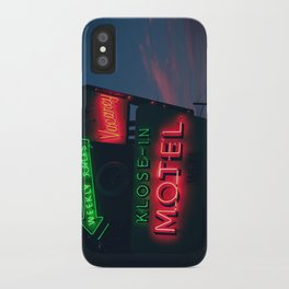 no tell iPhone Case