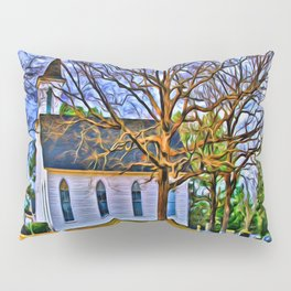 Church in the Wildwood Pillow Sham