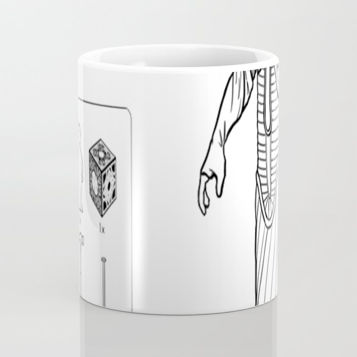 Your suffering will be legendary, even in the bookcase aisle. Coffee Mug