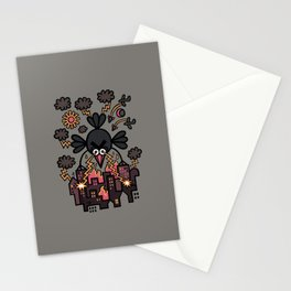 All is lost, hyperpoultry's wrath prevails Stationery Cards