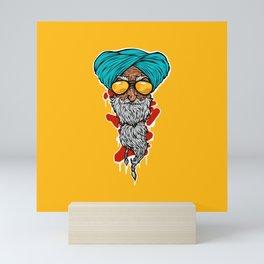 Cool man! Mini Art Print