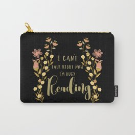 Busy Reading Carry-All Pouch