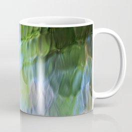 Coastline Mosaic Abstract Art Coffee Mug
