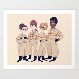 Busters Art Print