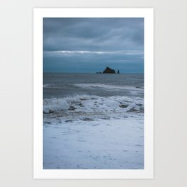 Sea Stacks in the Pacific Ocean Art Print