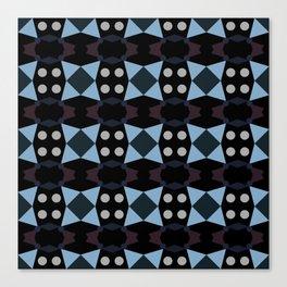 Blue Points Canvas Print