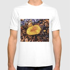 fungus, larger south. MEDIUM Mens Fitted Tee White