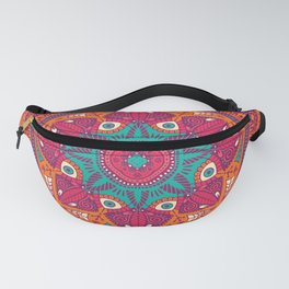 Colorful Mandala Pattern 017 Fanny Pack