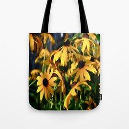 Black and Yellow. Tote Bag