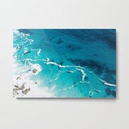Ombre Ocean Metal Print