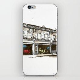 Shutters, Grantham Street, Dublin iPhone Skin