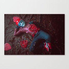 Frank Aberdean / Be My Valentine Canvas Print