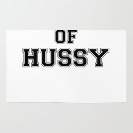 Property of HUSSY Rug