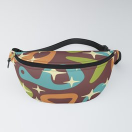 Retro Mid Century Modern Abstract Composition 674 Fanny Pack