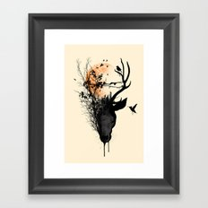 Last Sunset Framed Art Print