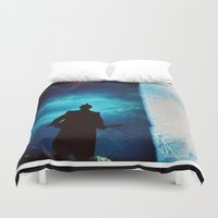 samurai Duvet Covers featuring Samurai by miha fras