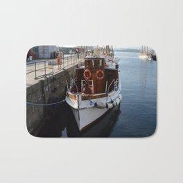 Classic Boats In Oslo Bath Mat