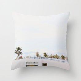 L.A. Dayz Throw Pillow