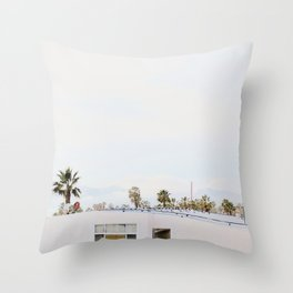 L.A. Dayz Throw Pillow