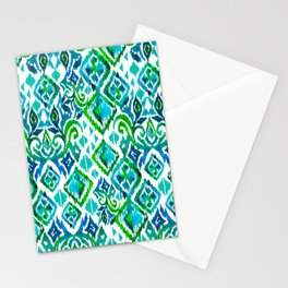 Seamless tribal pattern Stationery Cards