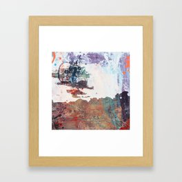 Derelict. Framed Art Print
