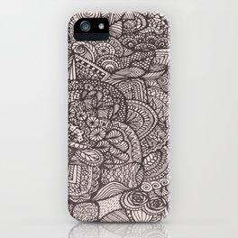 Doodle 8 iPhone Case