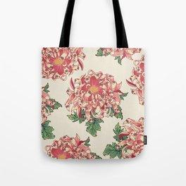 The Chrysanthemum of Pugs Tote Bag