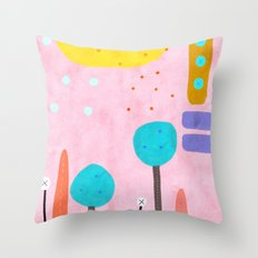 If you really need a touch of  Pink Throw Pillow