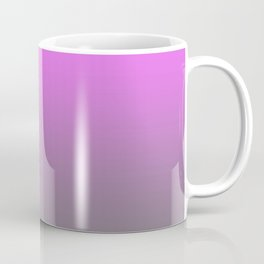Pink and Gray Gradient Ombre Coffee Mug