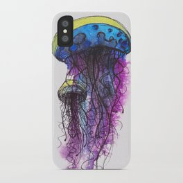 Sketchy Jellyfish iPhone Case