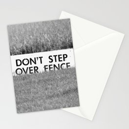 Marsh Danger Sign Stationery Cards